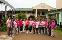 NADA Philippines ADS volunteers for the Infanta outreach/training came from different areas of the country.
