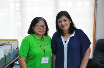 NADA Philippines Board President, Janet P. Paredes, with Infanta Mayor, Filipina America.